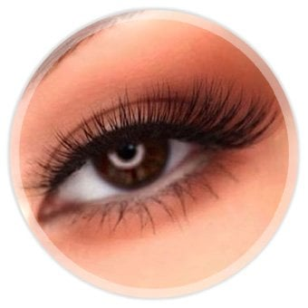 Wimperextensions, Eyelash Extensions, Hybrid Lashes