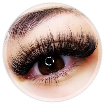 Wimperextensions, Eyelash Extensions, Mega Volume Lashes